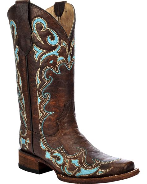 embroidered cowboy boots circle g s honey embroidered boots square