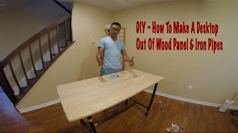 dukepro diy     desktop  wood panel