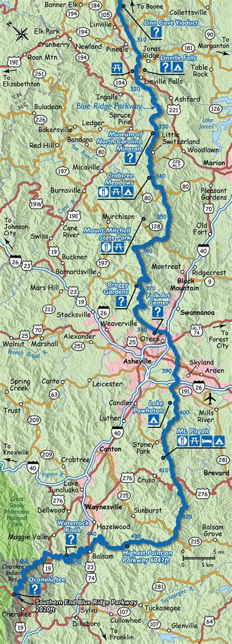 map of the blue ridge parkway map of the blue ridge parkway www f f info 2017