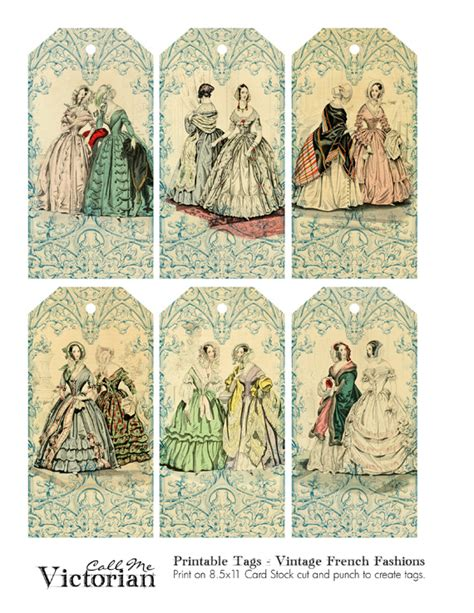 printable victorian tags victorian christmas tags printable tags vintage french