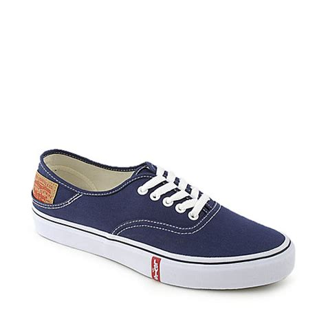 levis sneakers levi s mens rylee 3 buck blue casual lace up sneaker