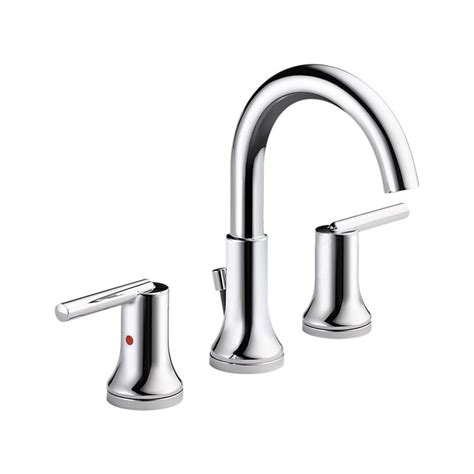 Delta Faucet Customer Service Number by 3559 Mpu Dst Trinsic 174 Two Handle Widespread Lavatory Metal Pop Up Bath Products Delta Faucet