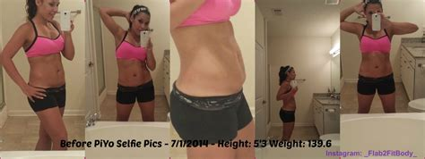 losing weight after c section how long week one piyo before photos flab 2 fitbody