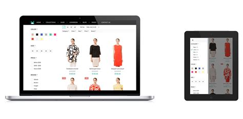 shopify themes with filters material responsive shopify theme fashion download