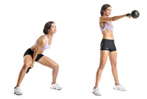 kettlebell swing with dumbbell 3 kettlebell exercises for abs butt and legs