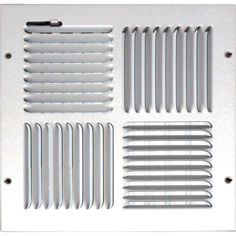 Sidewall Ceiling Register Vents by Speedi Grille 10 In X 10 In Ceiling Sidewall Vent