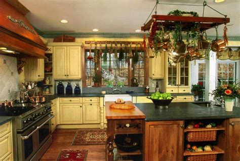 interior kitchen decoration decoration cuisine a l ancienne