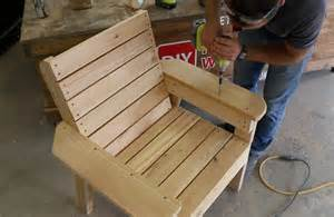 wood patio chair plans