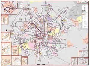 Via Bus Route Map san antonio via bus system maplets