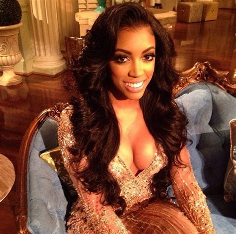 porche with real hair from atalanta housewives porsha williams accused of abusing prescription drugs