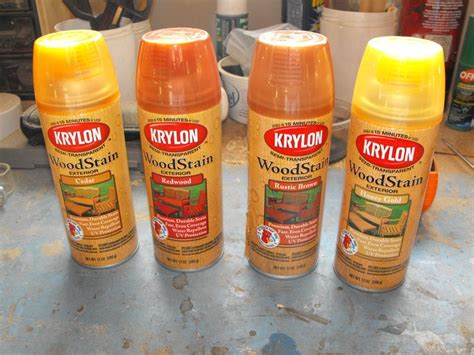 wood color spray paint ideas rust oleum 249116 painter s touch multi purpose spray teak wood