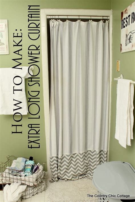 where to buy extra long shower curtains 25 best extra long shower curtain ideas on pinterest