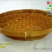Besek Wadah Bolu Anyam Bambu piring lidi kecil anyaman souvenir pernikahan