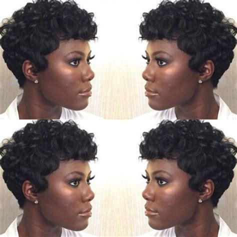 short pin curl hairstyles for black women 16 short hairstyles that will inspire you to chop it all