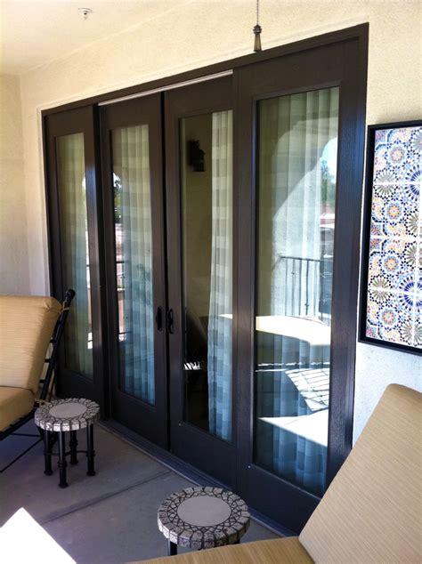 Sliding glass door repair: tracks, pocket, patio, glass