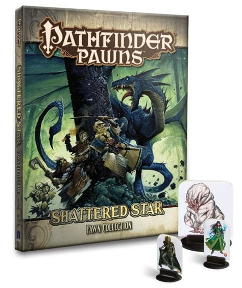 starfinder pawns archive pawn box books paizo pathfinder pawns shattered adventure