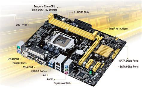 Motherboard Asus H81m C Socket 1150 Limited asus socket 1150 h81m d motherboard lazada malaysia