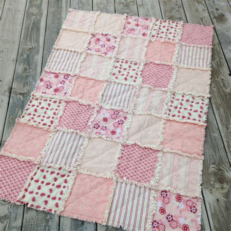 How To Make A Crib Quilt by Baby Rag Quilt Crib Quilt Toddler Quilt Nursery