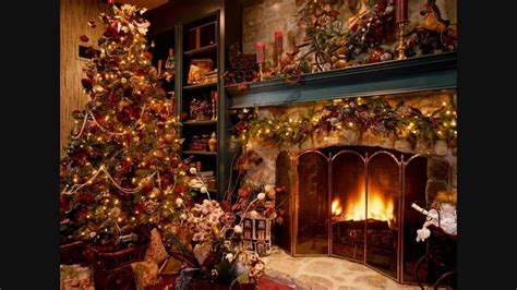 carols instrumentals fireplace sound