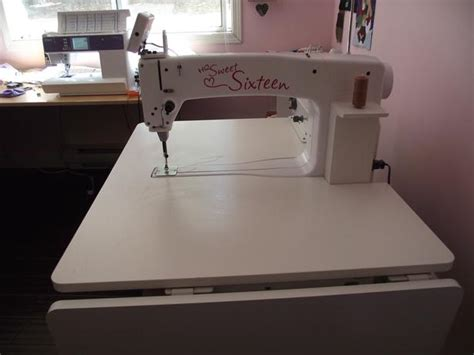 hq sweet 16 quilting machine nanaimo parksville