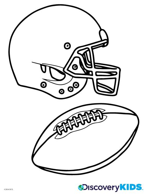 free coloring pages of color football