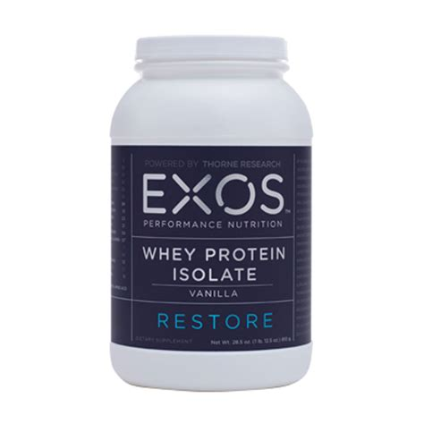 Whey Protein Isolated whey protein isolate vanilla