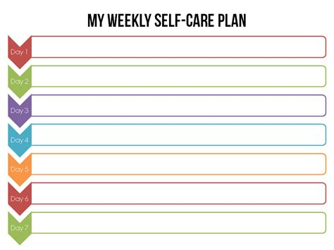 self care plan template what if you could change your in just 31 days