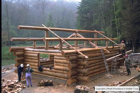 Cabin Roof Construction by Images