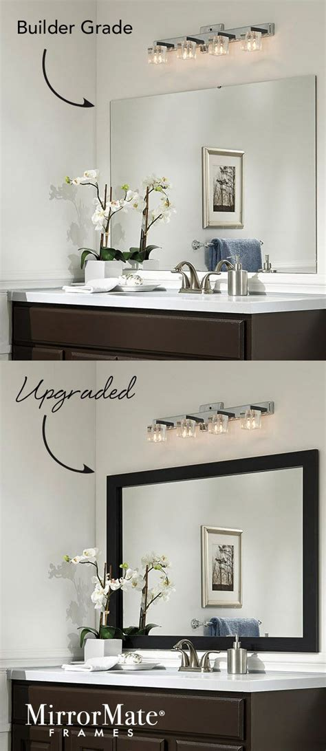 Framing Bathroom Wall Mirror Best 25 Frame Bathroom Mirrors Ideas On Pinterest Framed Bathroom Mirrors Framed Mirrors For