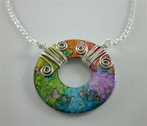 washer pendant designed by creations www