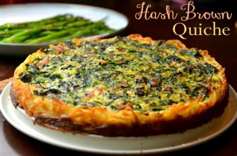 easy hash brown quiche recipe
