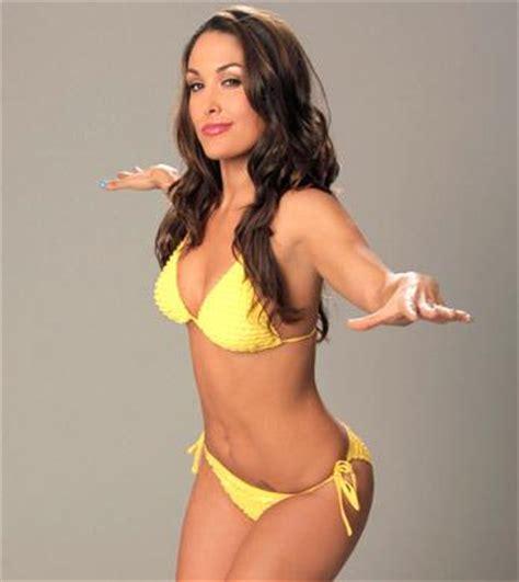 brie bella in yellow bikini wwe superstars, wwe