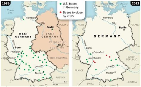 map of us bases in germany map us army bases in germany usareur army base