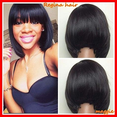 chinese bang wigs for black women cool 100 brazilian bob lace wig glueless full lace lace