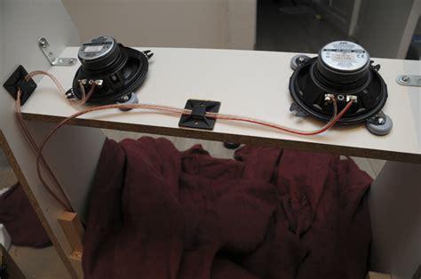 solucion dejar vistos cables montar altavoces y lificador tutorial montar una