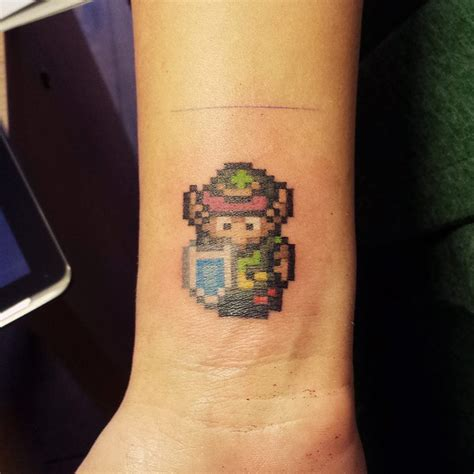 pixel tattoo wrist pixel pixel wrist on tattoochief