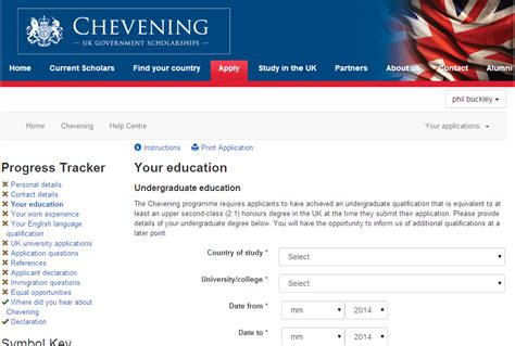 Transforming The Chevening Scholarship Application System