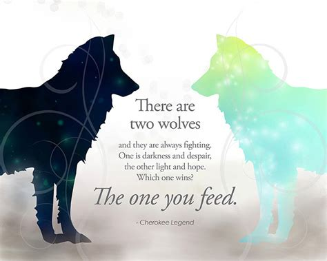 when the feeds family book 1 legend two wolves quote used in tomorrowland