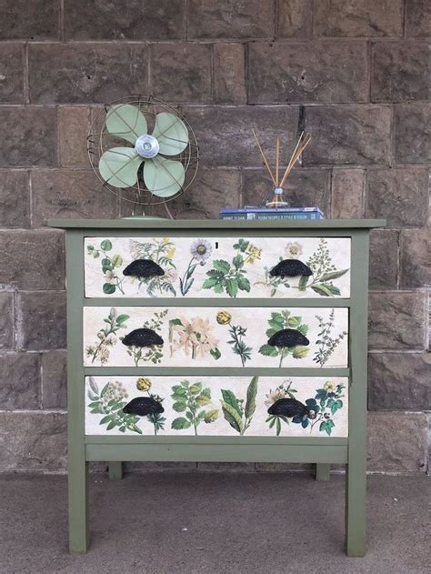 Decoupage Dressers - 25 best ideas about decoupage dresser on