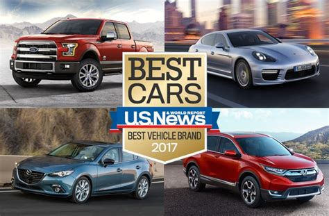 top brands of car 2017 best vehicle brand awards u s news world report