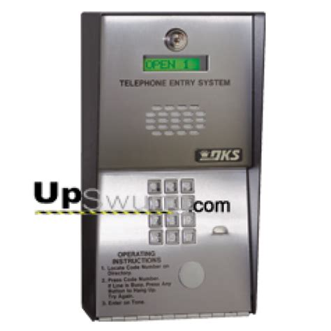 doorking 1802 telephone entry system for apartment