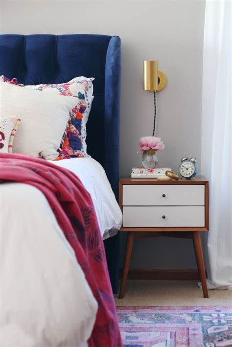 home tour mid century bohemian at the picadilly best modern headboard ideas on pinterest