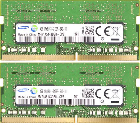 Samsung 8gb Ddr4 2133 Sodimm by 8gb Module Memory Ram Ddr4 2133 Mhz Samsung So Dimm Pc4