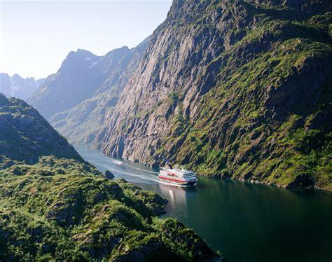 fjord coast hurtigruten cruises norwegian coast fjord travel norway