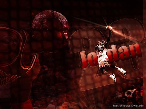 michael jordan dunk hd background wallpaper windows