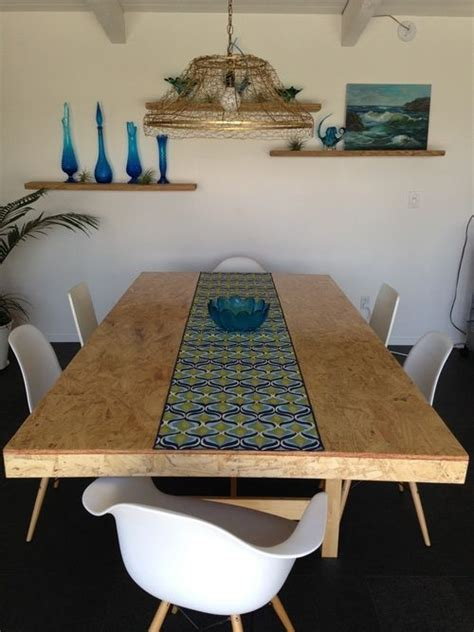 diy osb table top light fixture dining areas