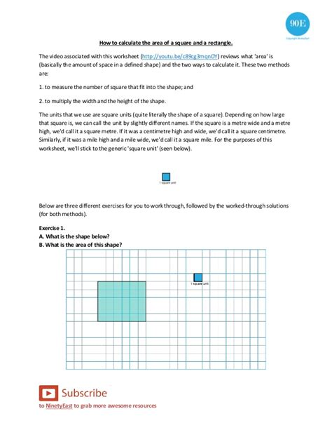 area calculater how to calculate the area of a square and rectangle