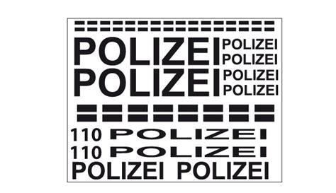 Aufkleber Polizei Fahrrad by Polizei Aufkleber Set Fahrrad Sticker Dekor F 252 R