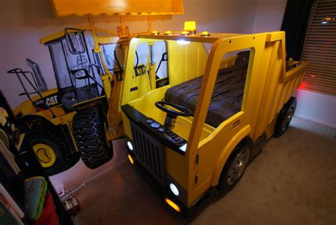 Dump Truck Beds by Building A Dump Truck Bed With Front Loader Book Shelf