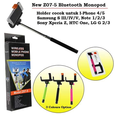 Tongsis Wifi jual tongsis wireless mobile phone monopod for android